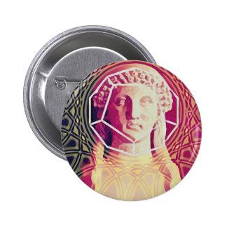 The Poet Sapphos 2 Inch Round Button