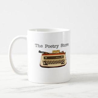 The Poetry Store logo mug