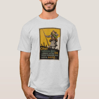 "The  ""Poilu"" of WWI - Reenacting T-Shirt"