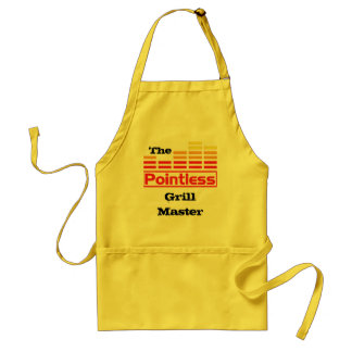 The Pointless Grill Master Standard Apron