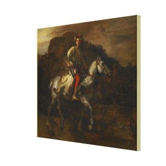 The Polish Rider by Rembrandt van Rijn Canvas Print