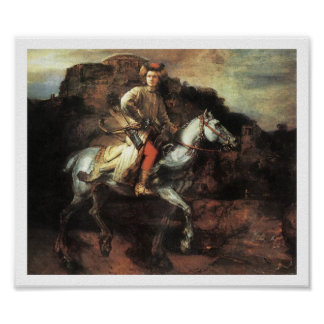 The Polish Rider Vintage Art Print Poster