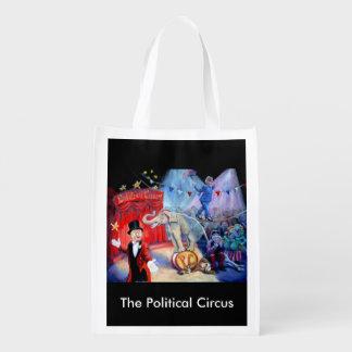 The Political Circus Reusable Grocery Bag