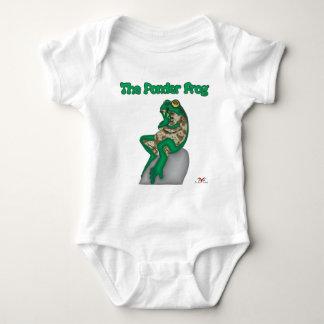 THE PONDER FROG BABY BODYSUIT