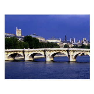 The Pont-Neuf is Paris' oldest bridge, France Postcard