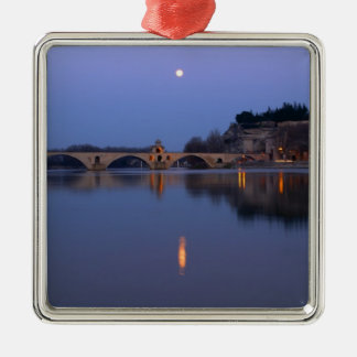 The Pont St. Benezet bridge in Avignon on the Metal Ornament