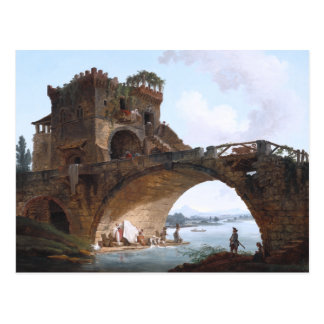 The Ponte Salario Postcard