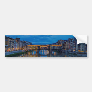 The Ponte Vecchio in Florence Bumper Sticker