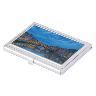 The Ponte Vecchio in Florence Business Card Holder