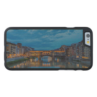 The Ponte Vecchio in Florence Carved Maple iPhone 6 Case