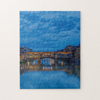 The Ponte Vecchio in Florence Jigsaw Puzzle