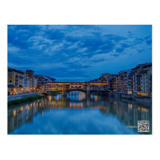 The Ponte Vecchio in Florence Postcard