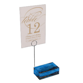 The Ponte Vecchio in Florence Table Card Holder