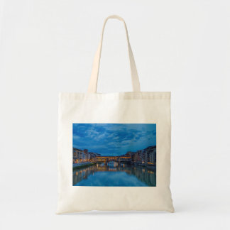 The Ponte Vecchio in Florence Tote Bag