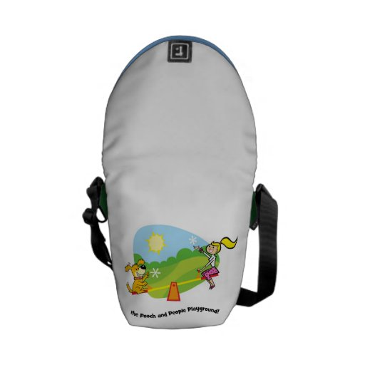 The Pooch and People Playground, Messenger Bag