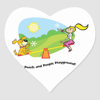 The Pooch and People Playground, Sticker