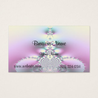 The Pool Fractal Business Card