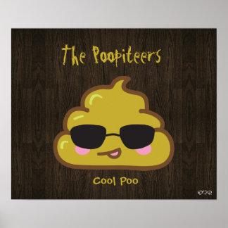 The Poopiteers - Cool Poo Print