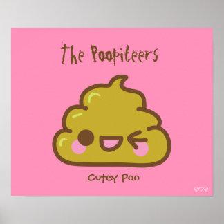 The Poopiteers - Cool Poo Poster