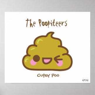 The Poopiteers - Cutey Poo Poster