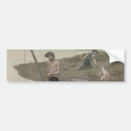 The Poor Fisherman by Puvis de Chavannes Bumper Sticker