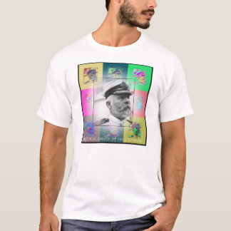 The Pop Art Captain Smith of the Titanic T-Shirt