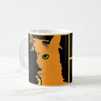 The Pop Cat Coffee Mug