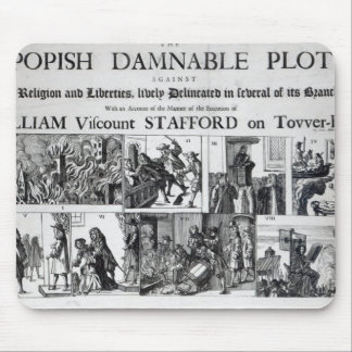 The Popish Damnable Mouse Pad