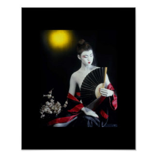 THE PORCELAIN DOLL ~ GEISHA IN TRAINING ~ POSTER