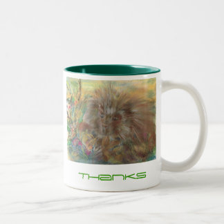The Porcupine Thanks Mug