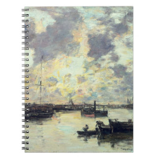 The Port, c.1895 (oil on panel) Spiral Notebooks