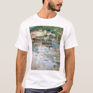 The Port, Nice by Berthe Morisot, Vintage Fine Art T-Shirt