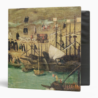 The Port of Seville, c.1590 3 Ring Binders