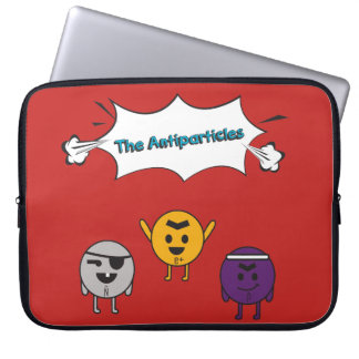 """The portable Antiparticles Funda of 15 """" Laptop Sleeve"""
