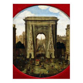 The Porte Saint-Denis Postcard