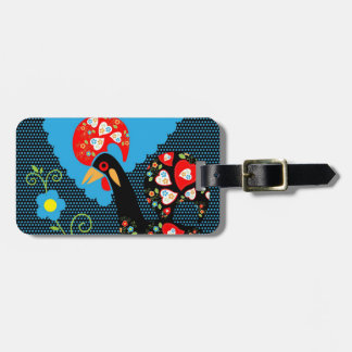 The Portuguese Rooster Luggage Tag
