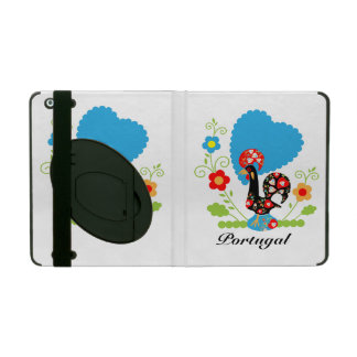 The Portuguese Rooster of Luck iPad Cases