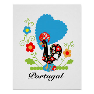 The Portuguese Rooster of Luck Poster