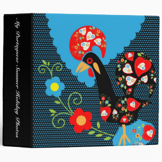 The Portuguese Rooster Vinyl Binder