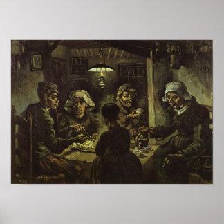 The Potato Eaters Van Gogh Fine Art Poster