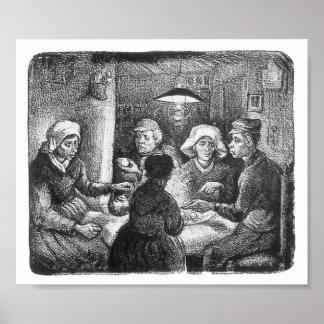 The Potato Eaters, Van Gogh Poster
