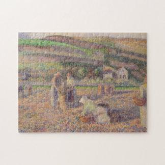 The Potato Harvest Jigsaw Puzzle