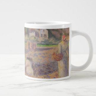The Potato Harvest Large Coffee Mug