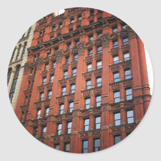 The Potter Building, New York City Round Sticker