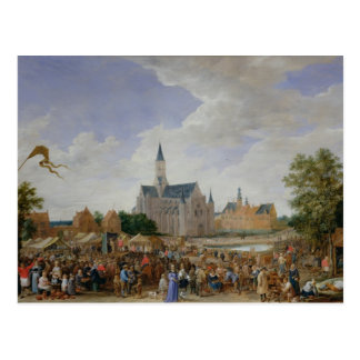 The Potters' Fair at Ghent Postcard