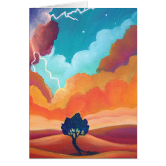 The Power of Independence - Blank Greeting Card