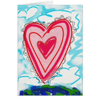 The Power of Love Greeting Card