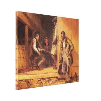 The Power of Music, 1847 Stretched Canvas Print