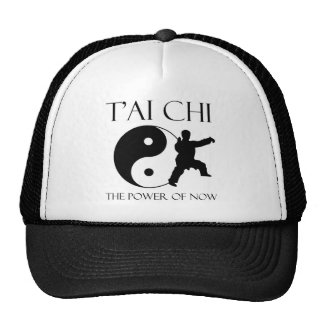 The power of now trucker hat