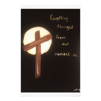 The Power of the Cross Stationery